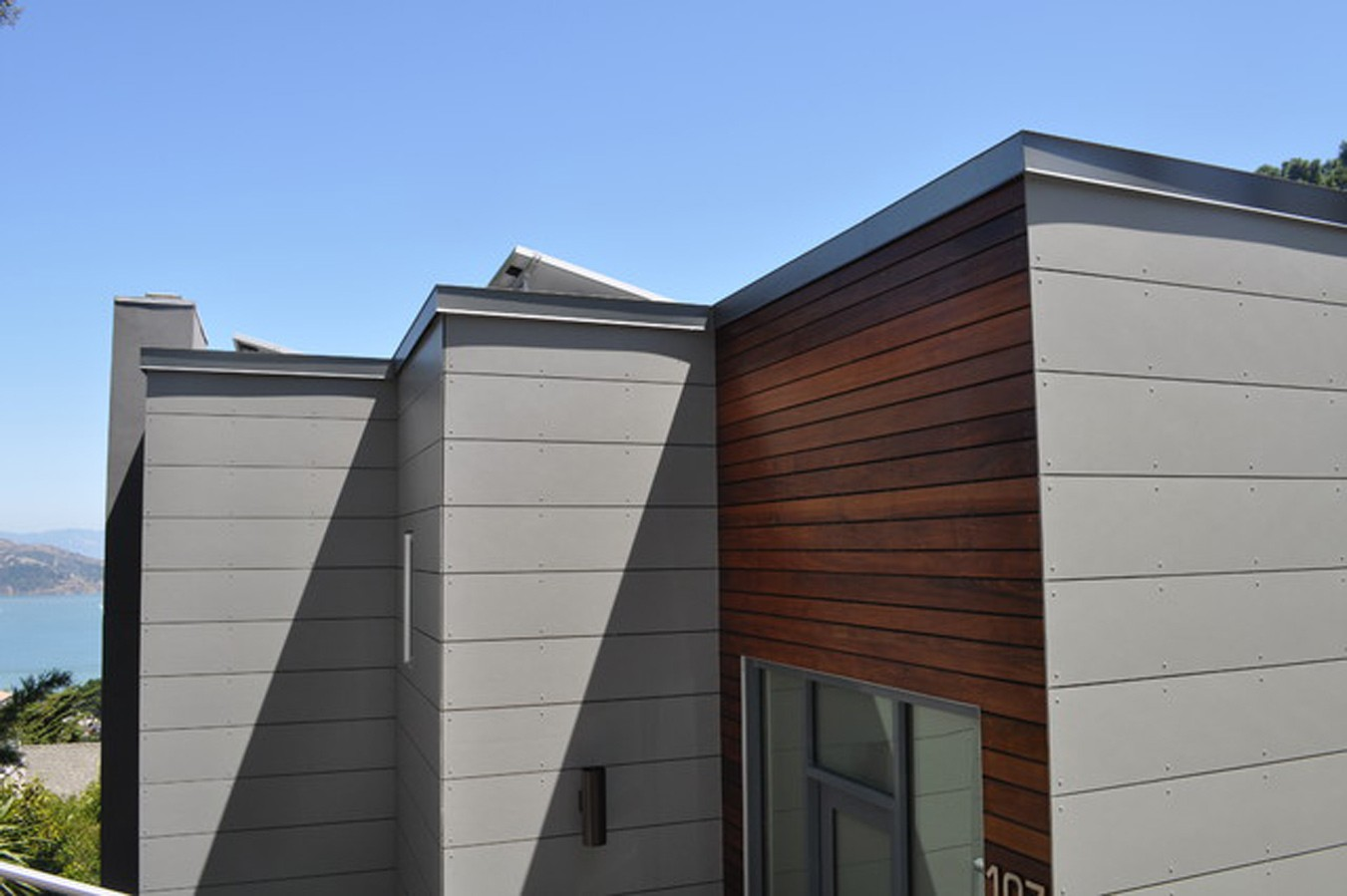 Exterior wood siding the perfect home design for Composite wood panels exterior